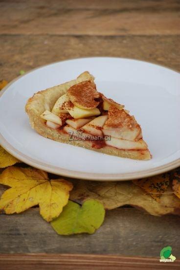 Tarta z gruszkami i jabłkami