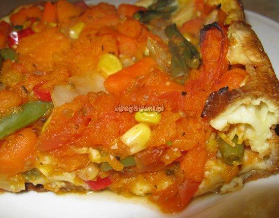 Gotowa potrawa - zapiekane warzywa