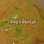 Warzywna zupa krem z awokado