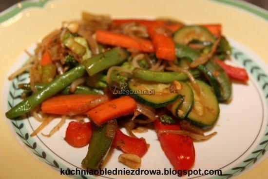 Chop suey - gotowe danie z warzyw