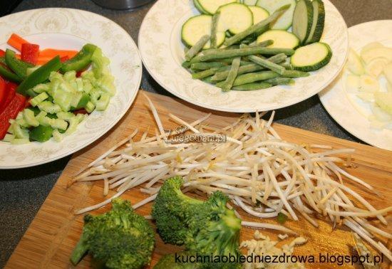 Warzywne chop suey składniki