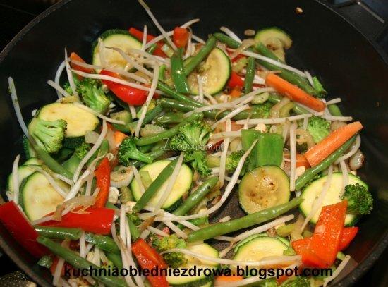 Smażenie warzyw