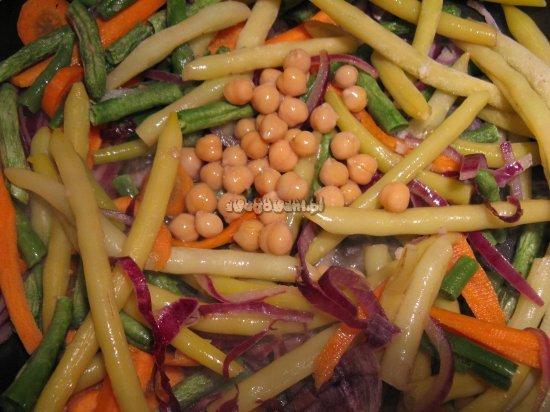 Warzywa do zapiekanki fasolowej z ryżem