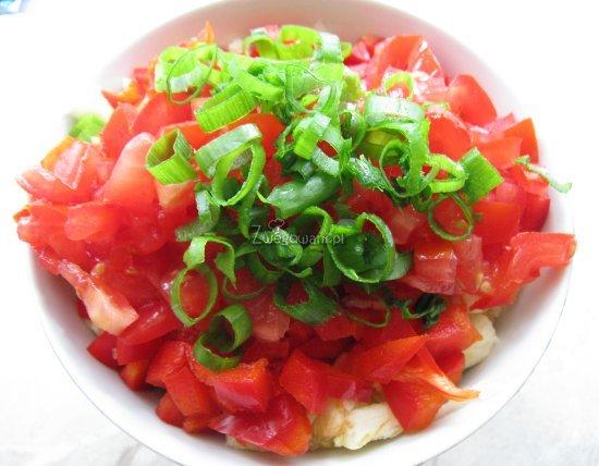 Zapiekany kabaczek z farszem warzywnym - składniki