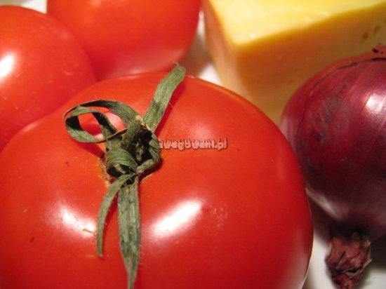 Zapiekany sos z pomidorów - składniki
