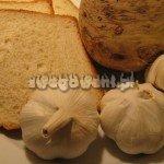 Zupa czosnkowa z grzankami - składniki