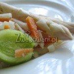 Zupa krem z białych szparagów - składniki