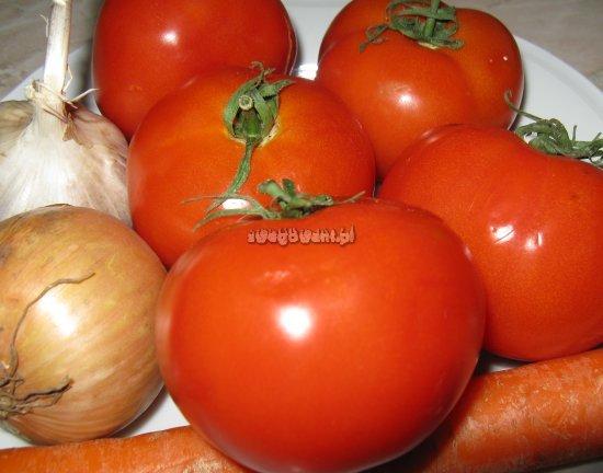 Zupa pomidorowa - składniki